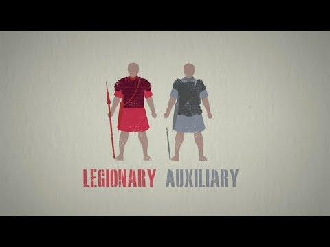 Jak byla strukturována římská armáda