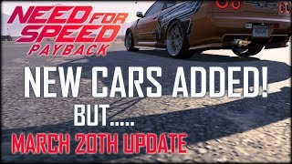 Need For Speed Payback March Update