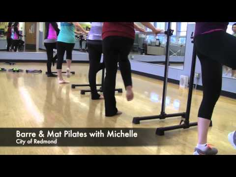 Barre & Mat Pilates -Rec Guide Class Highlight
