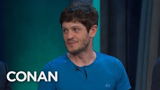 Kit Harington Really Punched Iwan Rheon In The Battle Of The Bastards - CONAN on TBS