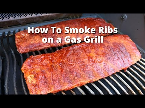Gas Grill Ribs   Smoke Ribs On Gas Grill with Malcom Reed HowToBBQRight