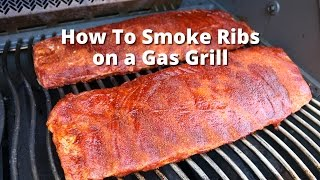Gas Grill Ribs | Smoke Ribs On Gas Grill With Malcom Reed HowToBBQRight