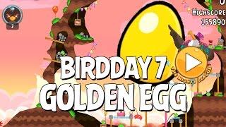 Secret Angry Birds BirdDay 7 Golden Egg - BirdDay 7 Update