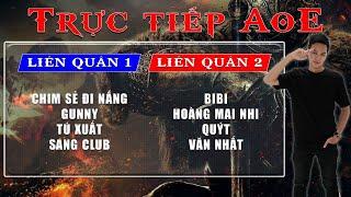 🔴Trực tiếp AoE 4vs4 Random   Chim Sẻ + Sài Gòn vs Bibi + Hà Nam   Ngày 02/07/2019