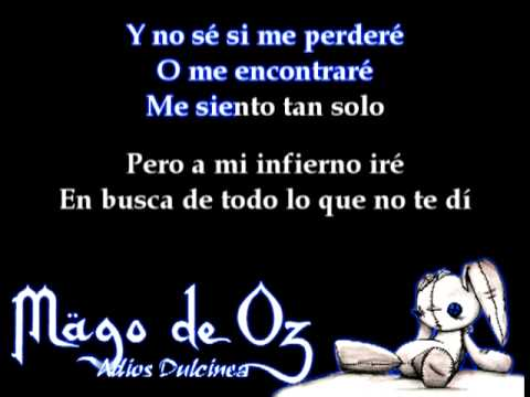 Música Adiós Dulcinea