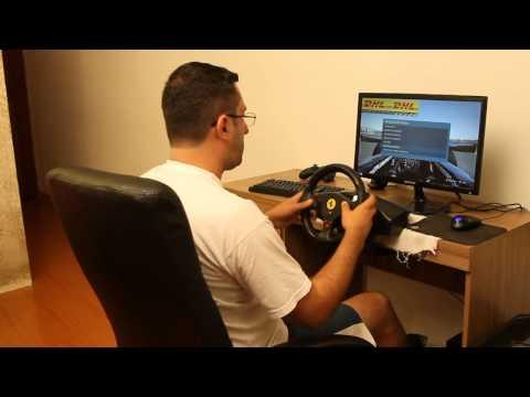 Volante Para Ps3 E Pc Ferrari Gt 2 Em 1 Experience