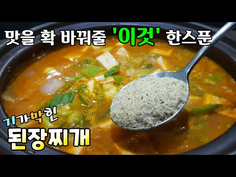 bean paste stew(doenjang stew)