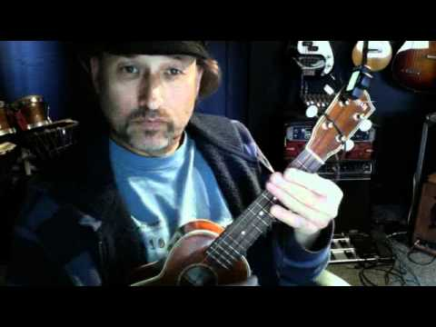 Learn to play barre (bar) chords on uke and guitar