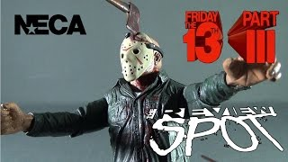 Throwback - NECA Friday the 13th Part 3D Jason Voorhees (Battle Damaged)