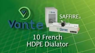 Saffire Dilator Tip Forming Equipment