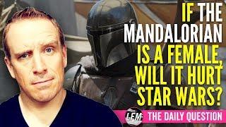 If the Mandalorian is a female will it hurt Star Wars?