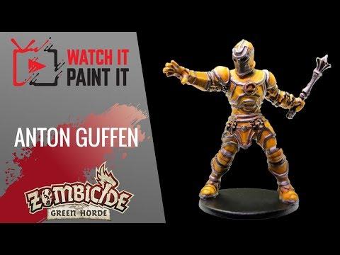 Zombicide Green Horde - Painting Anton Guffen