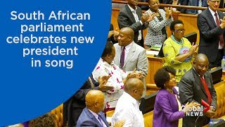South African politicians erupt in song after electing Jacob Zuma