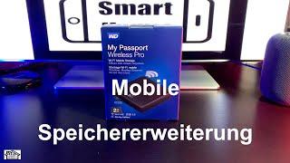 WD My Passsport Wireless Pro / Auspacken und Einrichten 4K Review Deutsch