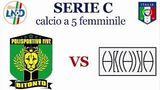 Polisportiva Bitonto femminile C5 - Arcadia Bisceglie