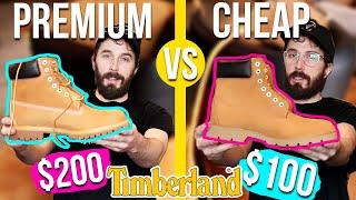 Premium Timberland VS Basic Timberland Boots - (6 INCH) - Timberland Boot Review