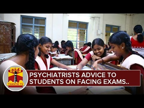 Psychiatrists-Advise-to-Students-on-facing-Public-Exams-Thanthi-TV-04-03-2016