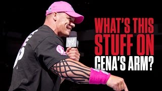 What's with this tape on John Cena's arm? - What you need to know...