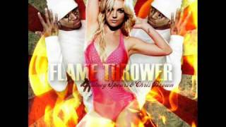 Britney Spears -Flamethrower demo (by chris brown)