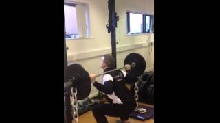 Squats with Chains RunWell Clinic