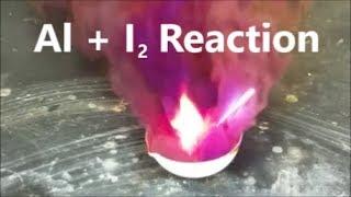 Aluminum Iodine Reaction