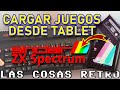 Cargar Juegos En Zx Spectrum Con Tablet O M vil Muy F c