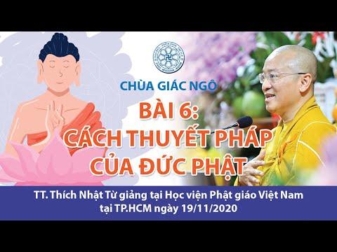 Cách thuyết pháp của Đức Phật
