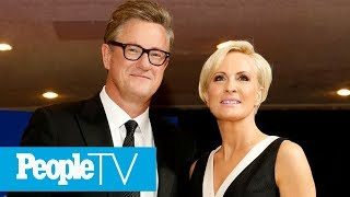 Joe Scarborough, Mika Brzezinski On How To Create Fashion Staples | PeopleTV
