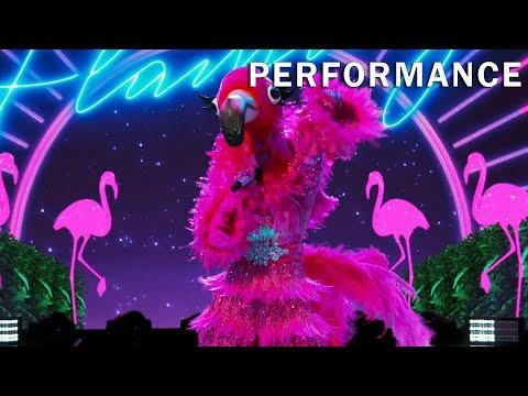"Flamingo sings ""Sucker"" by The Jonas Brothers | THE MASKED SINGER | SEASON 2"