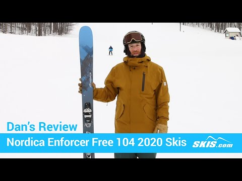 Video: Nordica Enforcer Free 104 Skis 2020 5 50