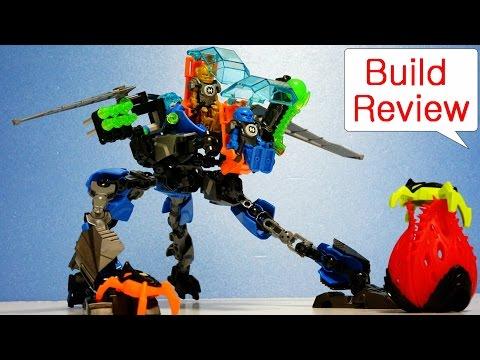 Vidéo LEGO Hero Factory 44028 : Le Robot 2 en 1 de Surge et Rocka