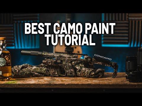 Camo Spray Paint Tutorial: Concamo Inspired