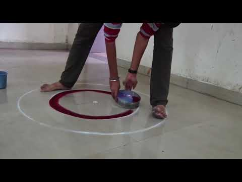 sanskar bharti rangoli design ganesha by ganesh khare