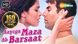 Aayega Maza Ab Barsaat Ka | Andaaz Songs | Akshay Kumar | Priyanka Chopra | Alka Yagnik| Gold songs