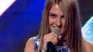 Анджела Киркова   X Factor (08.10.2015)