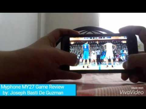 Myphone my27 NBA2K13 & NBA2K14 Game Review