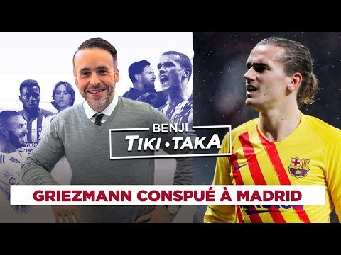 Benji Tiki Taka : Griezmann sous les sifflets de Madrid !