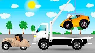 Мультики для детей про машинки - Происшествие на дороге.