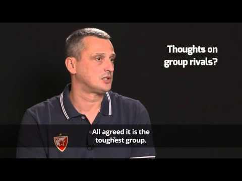Pre-season Interview: Coach Dejan Radonjic, Crvena Zvezda Telekom Belgrade