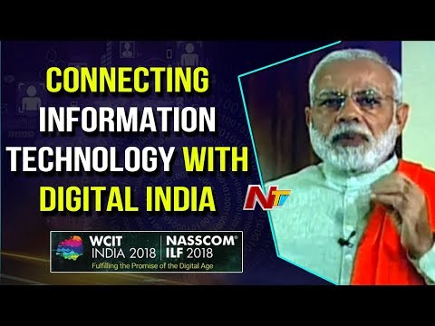 Narendra Modi Addresses Global IT Congress | Hyderabad | NASSCOM 2018