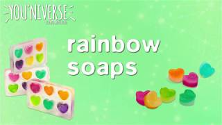 YOUniverse Rainbow Soaps