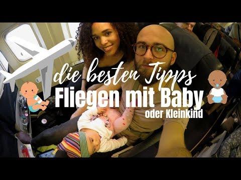 FLIEGEN MIT BABY / KLEINKIND • UNSERE ULTIMATIVEN TIPPS