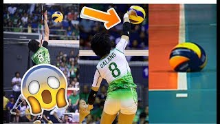 TOP 17 Most POWERFUL VOLLEYBALL SPIKES | Down the Line Hits | Philippine Volleyball [HD]