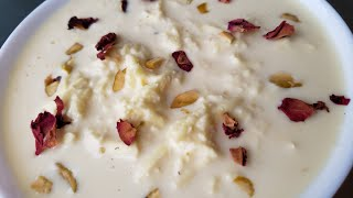 Paneer Kheer Sweet - Cottage Cheese Pudding/Summer Dessert Recipe - Rasmalai Style - Poojas Kitchen