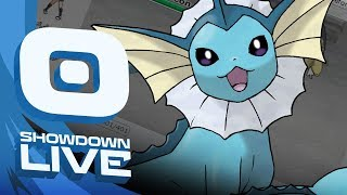 """Celebrate Vaporeon"" Meloetta Suspect Test #2 - Pokemon Sun and Moon! NU Showdown Live w/PokeaimMD!"