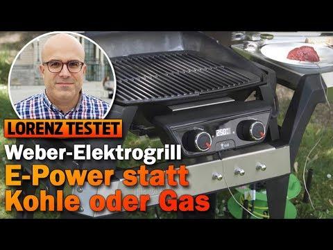 Kann der Weber-Elektrogrill mit Kohle oder Gas mithalten? (Lorenz testet)