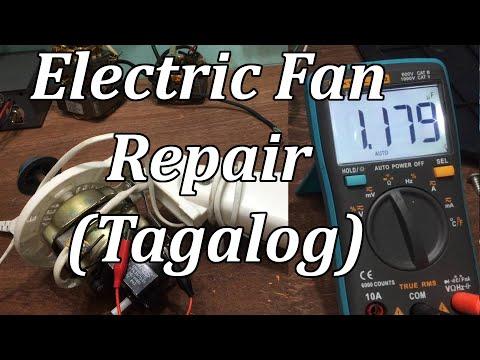 Electric Fan Repair (Tagalog)