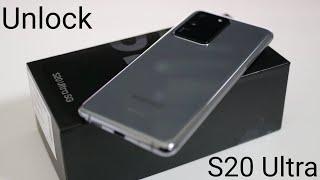 How To Unlock Samsung Galaxy S20 Ultra 5G