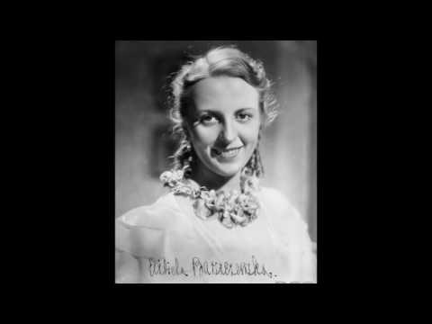 WIEM, ŻE NIE BYŁAM DLA CIEBIE- JANINA PASZKOWSKA 1936!