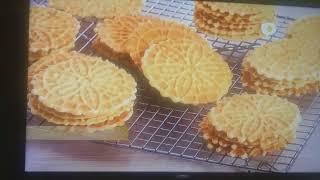 Pizzelle-Wafles belgas